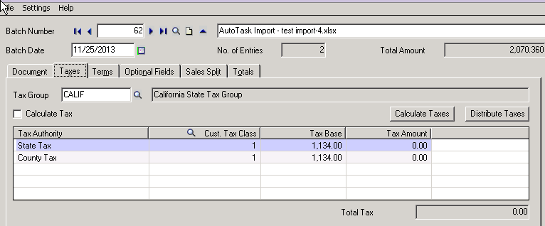 Free Printable Receipts Excel Codepartners Blog  Importing Invoices From A Third Party  Basic Invoice Template Uk with Invoice Car Price With This Customization I Helped My Customer Automatically Generate Ar  Invoices Based On Their Imported Excel File Ultimately Streamlining Their  Daily  Free Contractor Invoice Forms Word