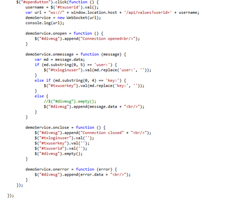 CodePartners Blog | How to Create a Simple WebSocket Project with MVC 4