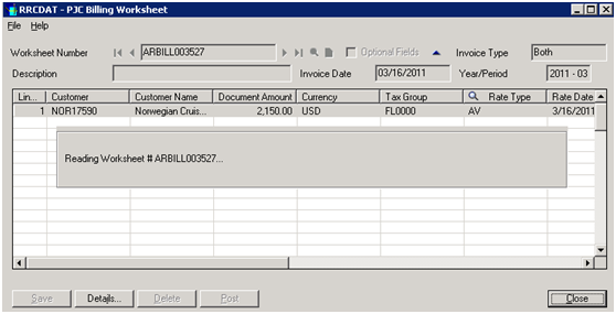 Excel 2003 Invoice Template Codepartners Blog  Integrating The Sage  Erp Pjc Billing  What Is The Purpose Of An Invoice Word with Clothing Receipt Excel At The End Of The Regular Process After The Billing Worksheet Is Posted To  The Ar Module Our Program Adds Some More Steps To Open The Ar Invoice  Batch  Chevy Invoice Price