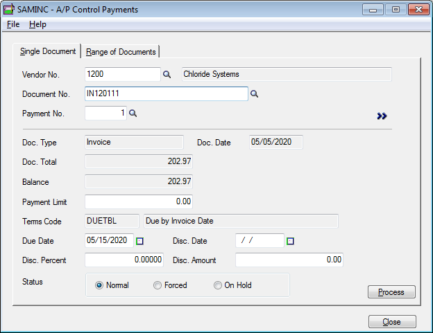 CodePartners Blog Taking Invoices Off Hold En Masse - Invoice control software